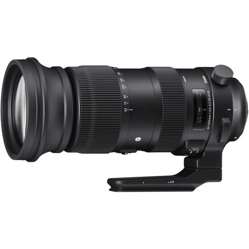 Sigma 60-600mm f/4.5-6.3 Sports Lens for Canon EF now in Stock at B&H