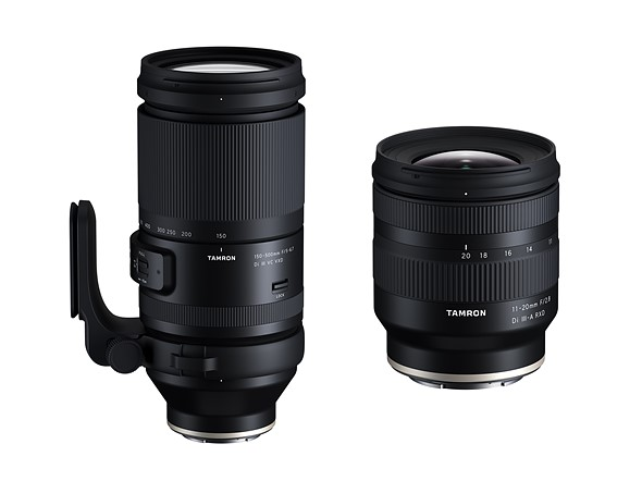 Tamron 150-500mm f/5-6.7 & 11-20mm f/2.8 Lenses now Available for Pre-order