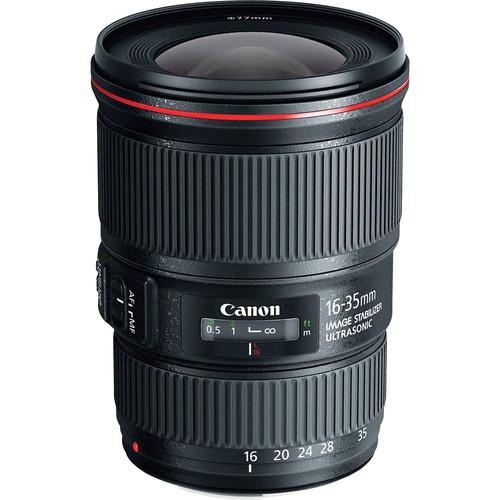 $279 off: Canon EF 16-35mm f/4L IS USM Lens for $819