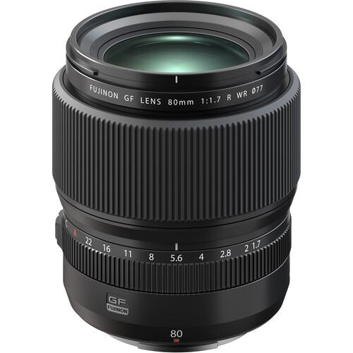 Fujifilm GF 80mm f/1.7 R WR Lens now in Stock