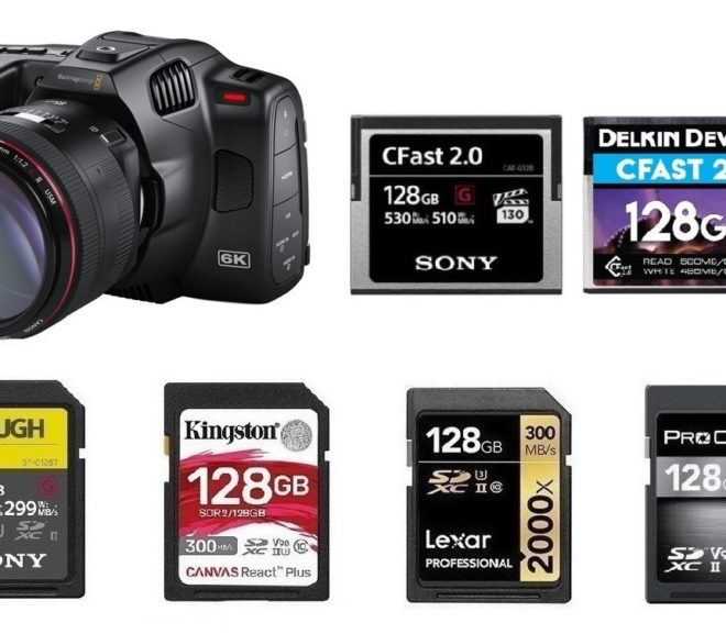 Best Memory Cards for BMPCC 6K Pro
