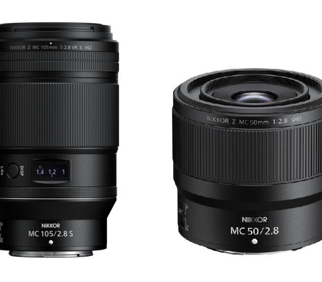 Nikon NIKKOR Z MC 50mm f/2.8 & 105mm f/2.8 VR S Macro Lenses Now Available for Pre-order