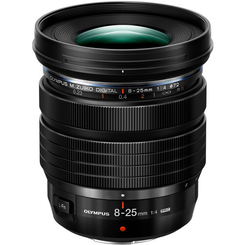 Olympus M.Zuiko Digital ED 8-25mm f/4 PRO Lens Now Available for Pre-order