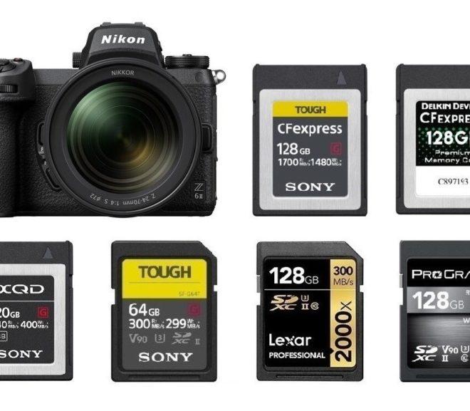 Best Memory Cards for Nikon Z6 II