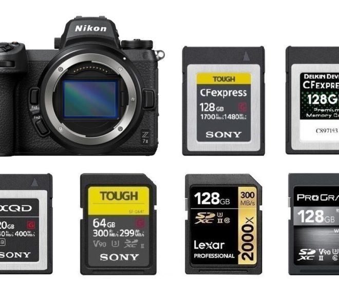 Best Memory Cards for Nikon Z7 II