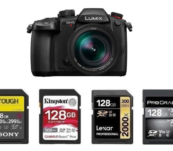 Best Memory Cards for Panasonic GH5 II