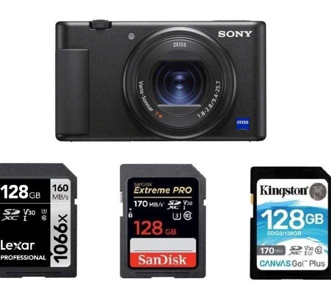 Best Memory Cards for Sony ZV-1