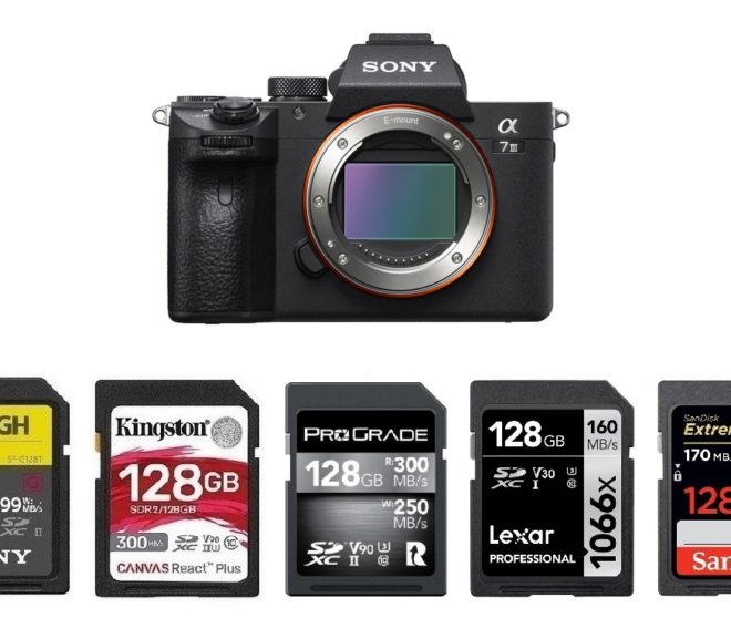 Best Memory Cards for Sony a7 III