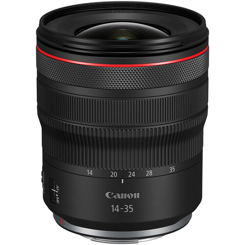 Canon RF 14-35mm f/4L IS USM Lens now Available for Pre-order