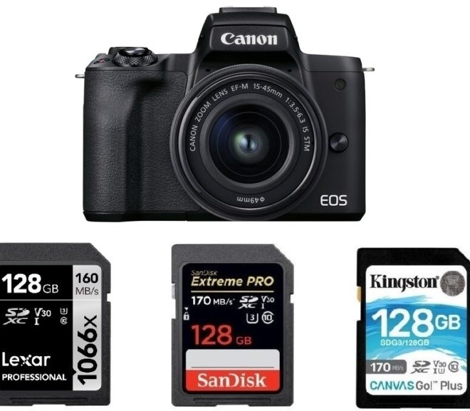 Best Memory Cards for Canon EOS M50 Mark II