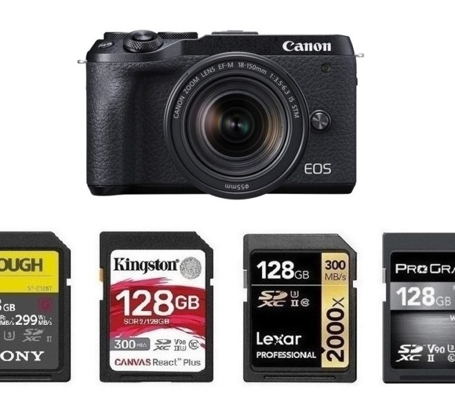 Best Memory Cards for Canon EOS M6 Mark II