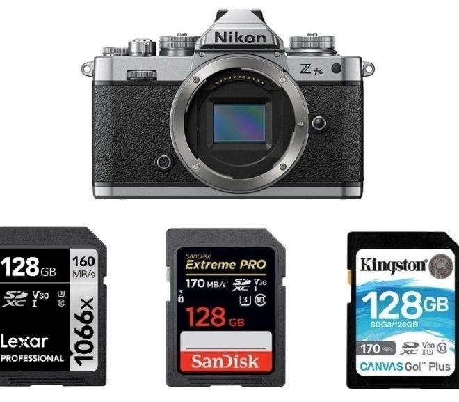 Best Memory Cards for Nikon Z fc
