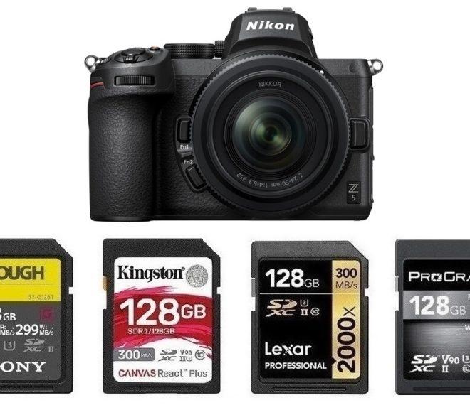 Best Memory Cards for Nikon Z5