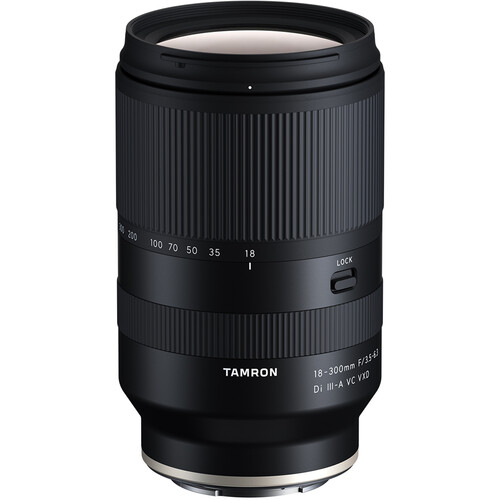 Tamron 18-300mm f/3.5-6.3 Di III-A VC VXD Lens now Available for Pre-order